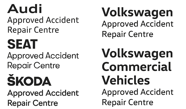Volkswagen Group Official Authorised Repairer