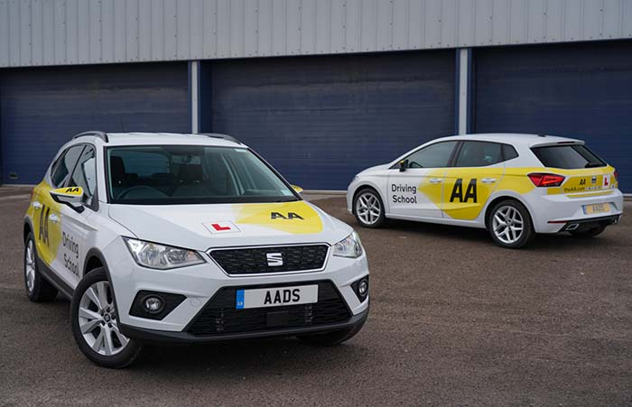 SEAT Fleet passes AA Driving School test with new partnership