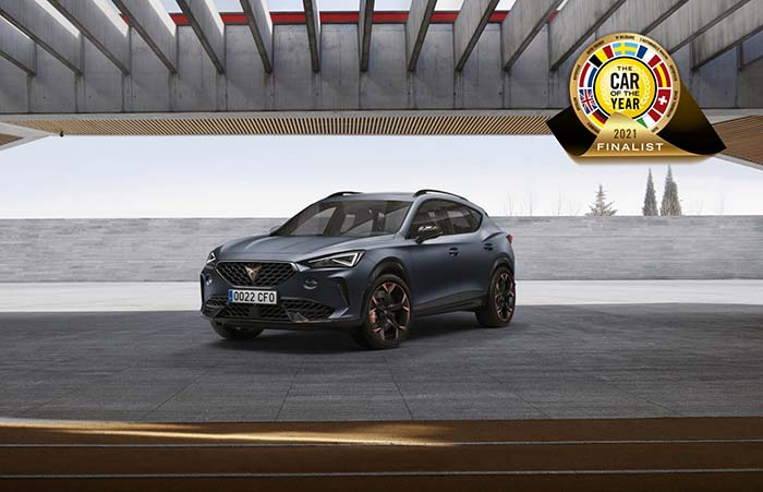 Cupra Formentor Shortlisted For 2021 European Car Of The Year 2021 Award