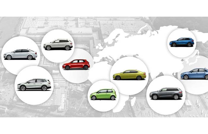 ALL THE PLACES ŠKODA CALLS HOME