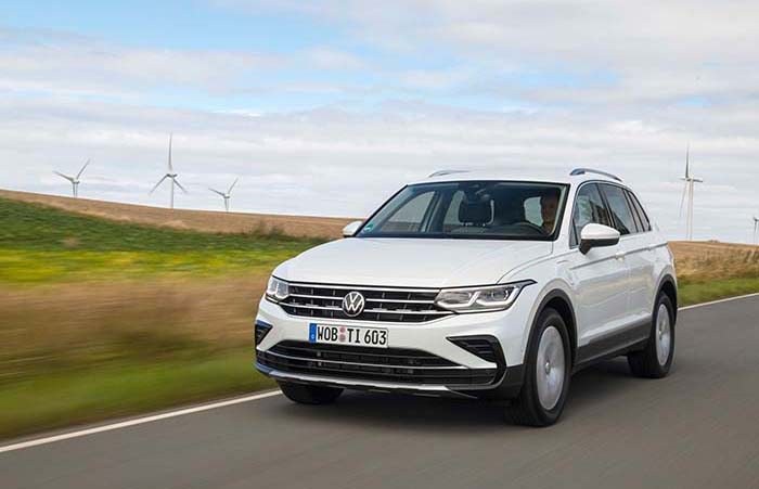 Best-selling SUV now available as a plug-in hybrid: the new Tiguan eHybrid01 is now available to order