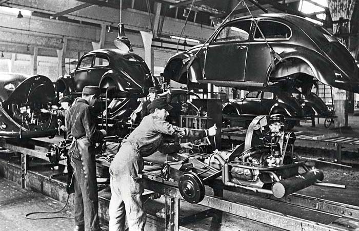 75 years ago in Wolfsburg: Start of series production of the Volkswagen Beetle